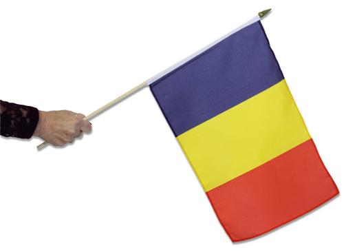 Chad Waving Flag