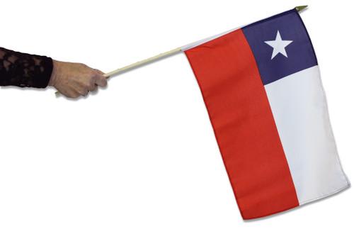 Chile Waving Flag