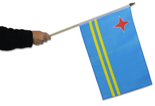Congo Democratic Republic of (Congo - Kinshasa) Waving Flag