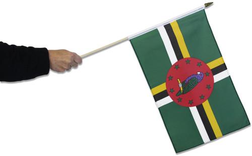 Dominica Waving Flag