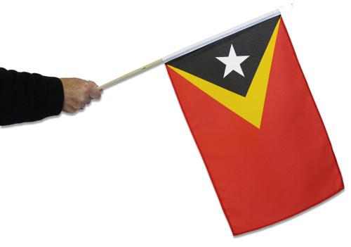 East Timor Waving Flag