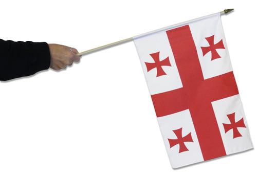 Georgia Waving Flag
