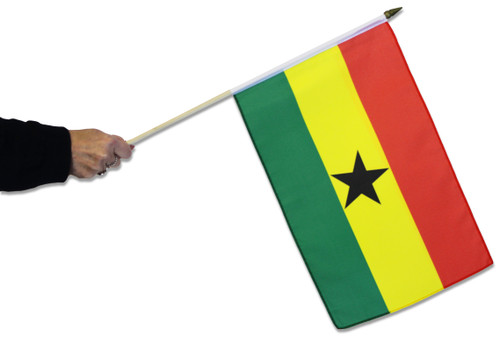 Ghana Waving Flag