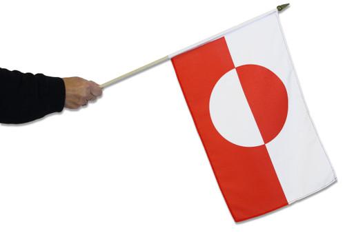 Greenland Waving Flag