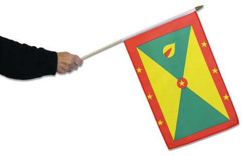 Grenada Waving Flag
