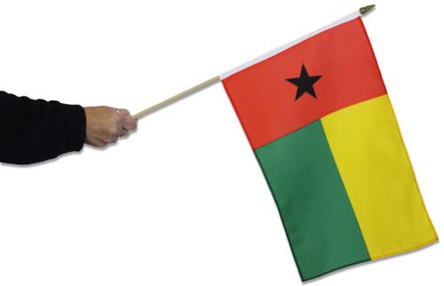 Guinea Bissau Waving Flag