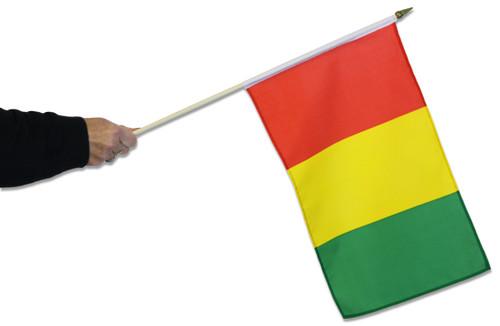 Guinea Waving Flag