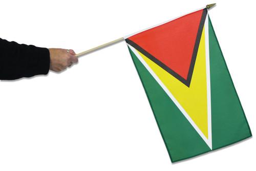 Guyana Waving Flag