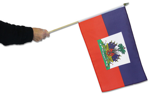 Haiti Waving Flag