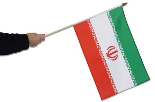 Iran Waving Flag