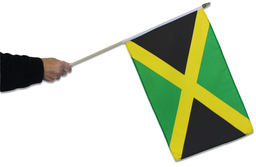 Jamaica Waving Flag
