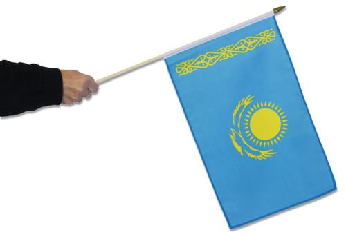 Kazakhstan Waving Flag