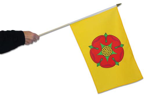 Lancashire Waving Flag
