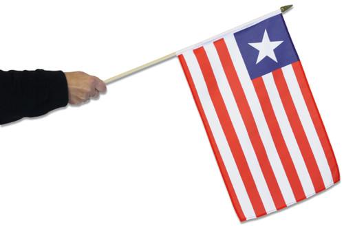 Liberia Waving Flag