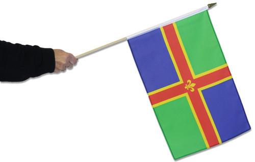 Lincolnshire Waving Flag