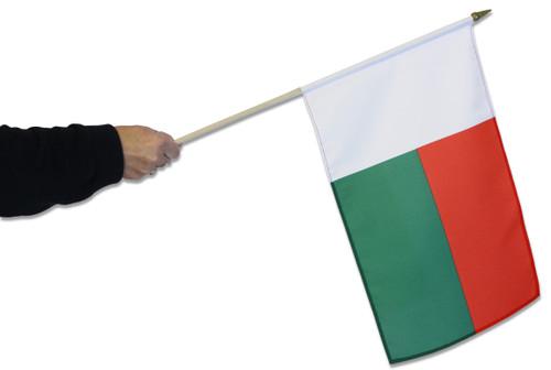 Madagascar Waving Flag