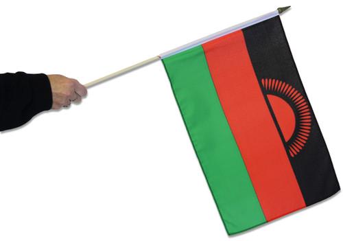 Malawi Waving Flag