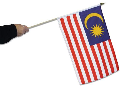 Malaysia Waving Flag