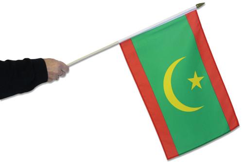 Mauritania Waving Flag