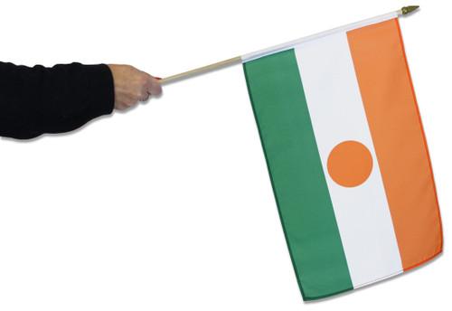 Niger Waving Flag