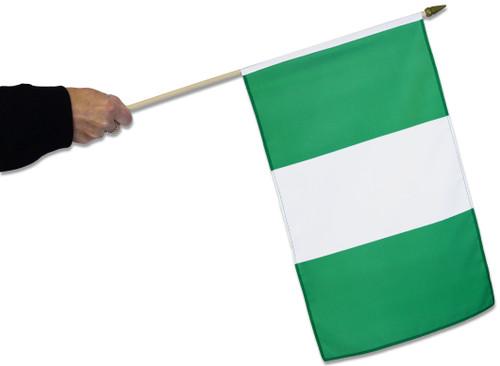 Nigeria Waving Flag
