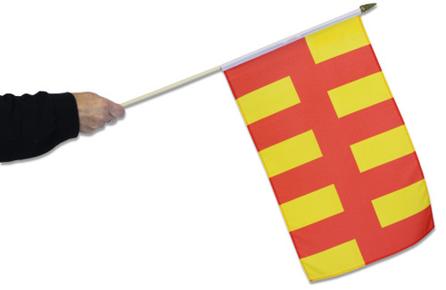 Northumberland Waving Flag