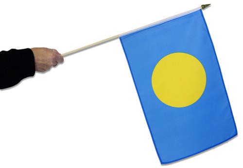 Palau Waving Flag