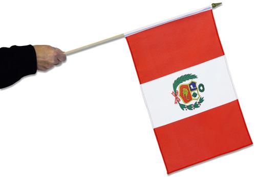 Peru Waving Flag