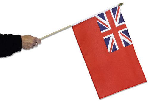Red Ensign Waving Flag