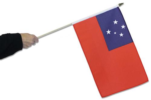 Samoa Waving Flag