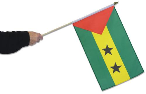Sao Tome and Principe Waving Flag