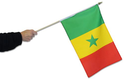 Senegal Waving Flag