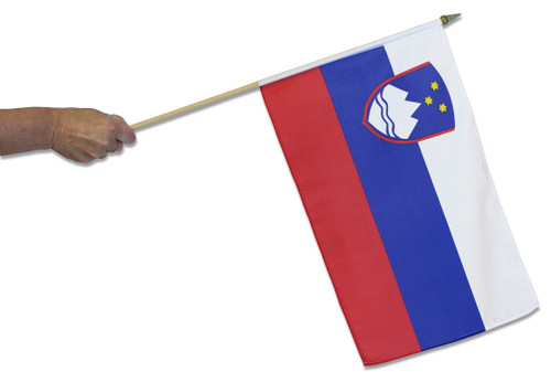 Slovenia Waving Flag