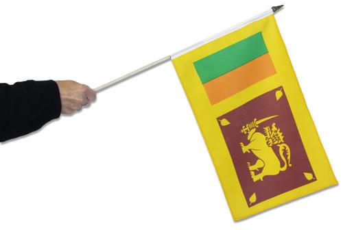 Sri Lanka Waving Flag