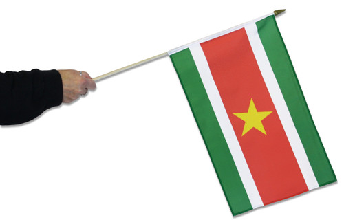 Suriname Waving Flag