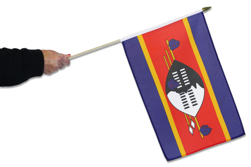 Eswatini Waving Flag