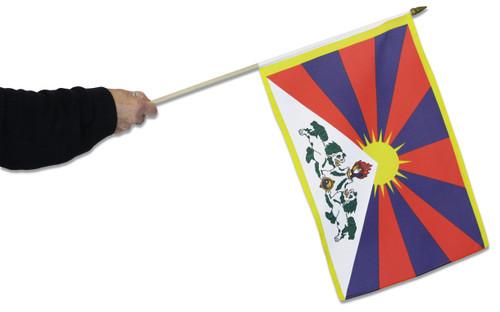 Tibet Waving Flag