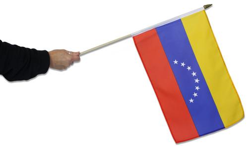 Venezuela Waving Flag