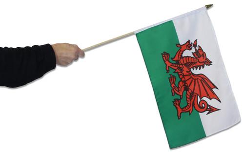 Wales Waving Flag