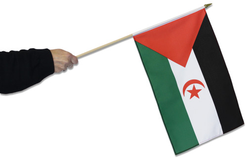 Western Sahara Waving Flag