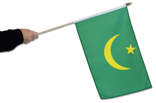 Mauritania Waving Flag (Historic, 1959 to 2017)