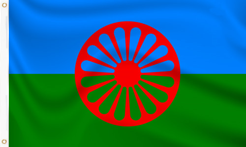 Romani Gypsy Sinti Flag