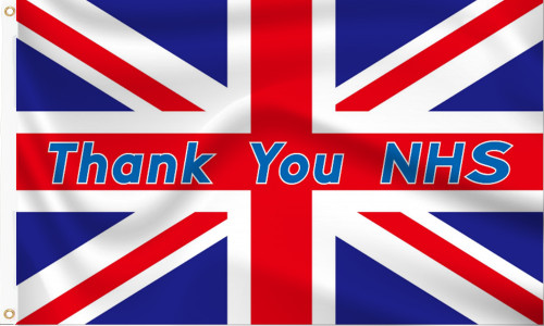 Thank You NHS flag to buy online
