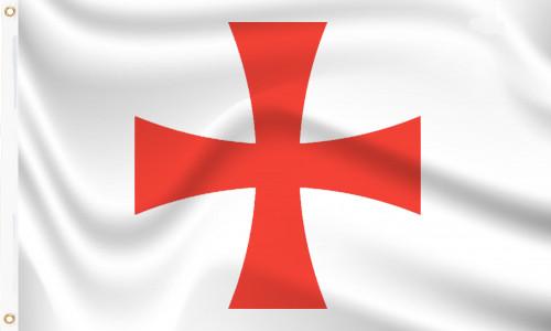 Knights Templar Red Cross Masonic Cross Flag