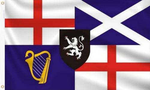 Lord Protectors Standard 1653 - 1659 Flag