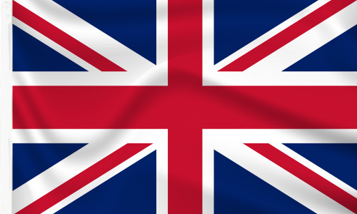 Sleeved Union Jack Flag