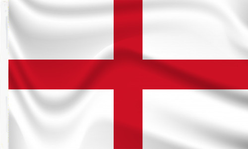 England Sleeved Flags for sale
