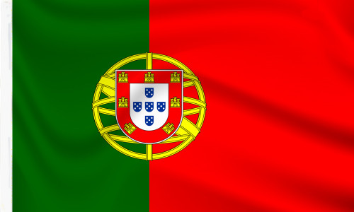 Portugal Flag with sleeve to buy online