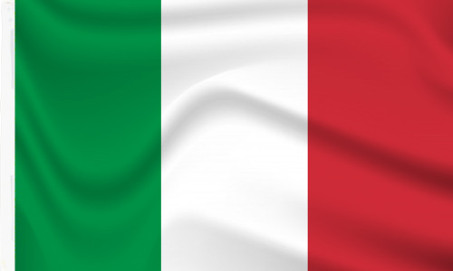 Italy Flag with Sleeve for sale online