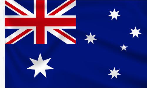 Australia Sleeved Flag to Buy